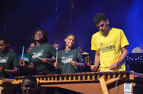education africa sounds of celebration marimbas